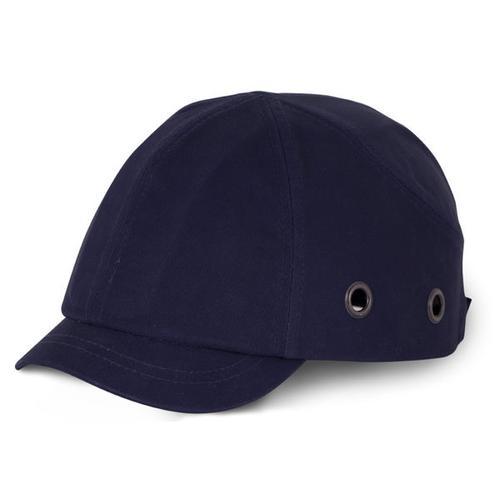 B-Brand Short Peak Safety Baseball Cap Navy Blue Ref BBSPSBCN *Up to 3 Day Leadtime*