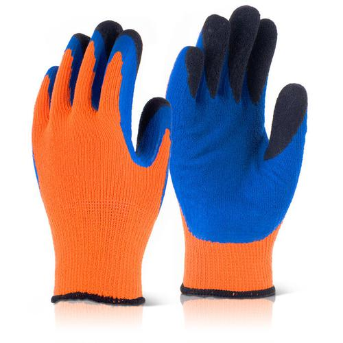 Image for B-Flex Latex Thermo-Star Fully Dipped Glove Size 9 Orange Ref BF3OR09 *Up to 3 Day Leadtime*
