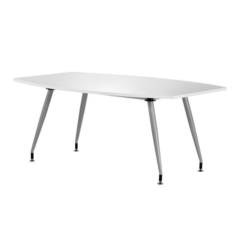 Sonix 1800x1200x800mm Boardroom Table High Gloss White Ref I000730
