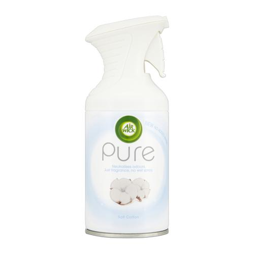 Air Wick Pure Soft Cotton Air Freshener 250ml Ref RB741702