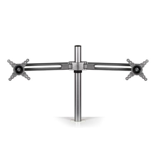 Fellowes Lotus Dual Monitor Arm Kit Each Arm Holds Up To 5.8kgs Ref 8042901