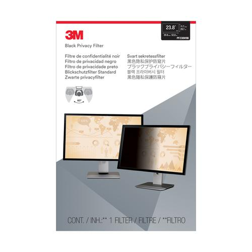 3M Blackout Privacy Filter for Widescreen Desktop LCD 23.8inch Ref PF23.8W9