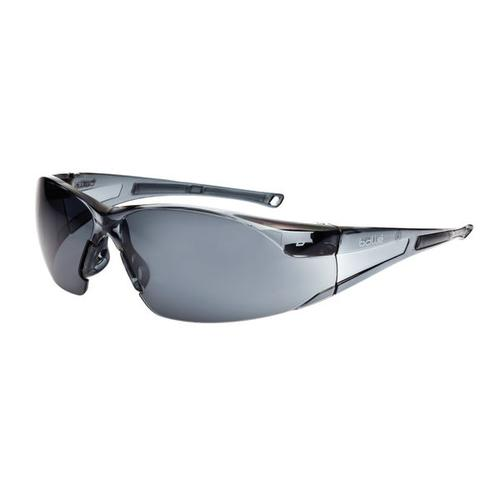 Bolle Rush Safety Glasses Smoke Ref BORUSHPSF [Pack 10] *Up to 3 Day Leadtime*