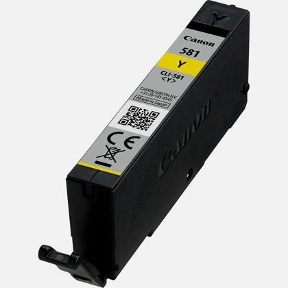 Canon CLI-581 Inkjet Cartridge 5.6ml Page Life 259pp Yellow Ref 2105C001