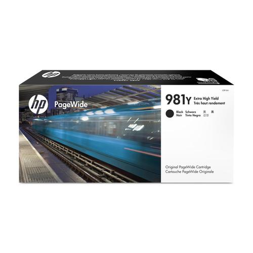 Hewlett Packard [HP] No.981Y InkjetCartPageWideXHYPageLife20000pp Black Ref L0R16A *3to5 Day Leadtime*