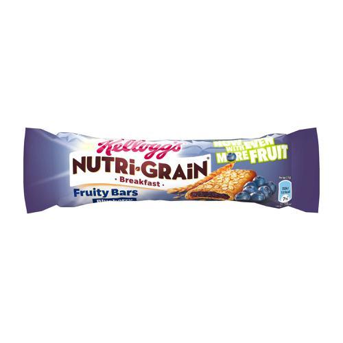 Nutri-Grain Breakfast Bar Blueberry 37g Ref 5008318683 [Pack 25]