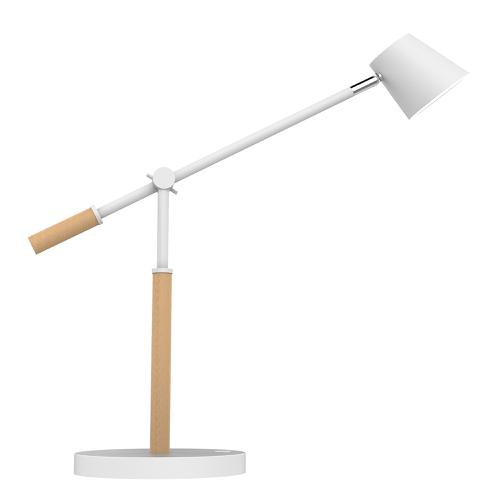 Unilux Vicky LED Desk Lamp 9W White/Beech Ref 400120126