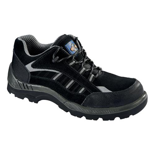 Rockfall ProMan Trainer Suede Fibreglass Toecap Black Size 12 Ref PM4040 12