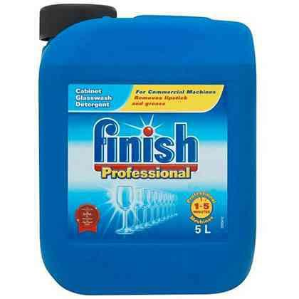 Finish Professional Glasswash Detergent 5 Litre Ref RB534137