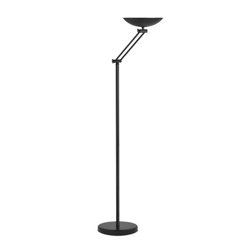 Unilux Dely Articulated LED Floor Lamp 30W 1.8m Black Ref 400095666