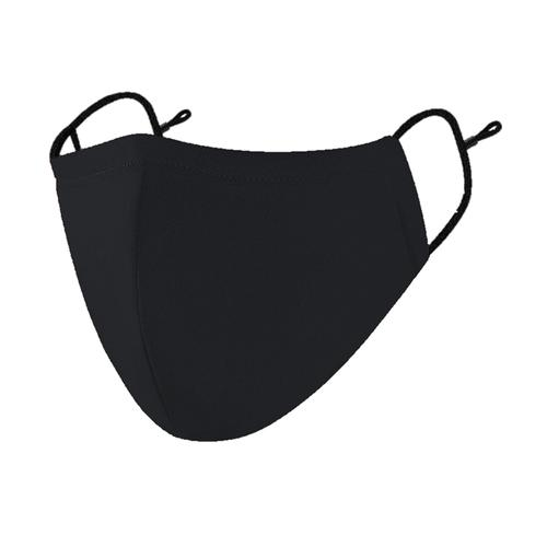 5 Star Facilities Washable Reusable Anti Microbial Black Cotton Face Mask Pack10