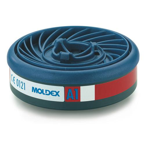 Moldex A1 7000/9000 Particulate Filter EasyLock System Blue Ref M9100 [Pack 5] *Up to 3 Day Leadtime*