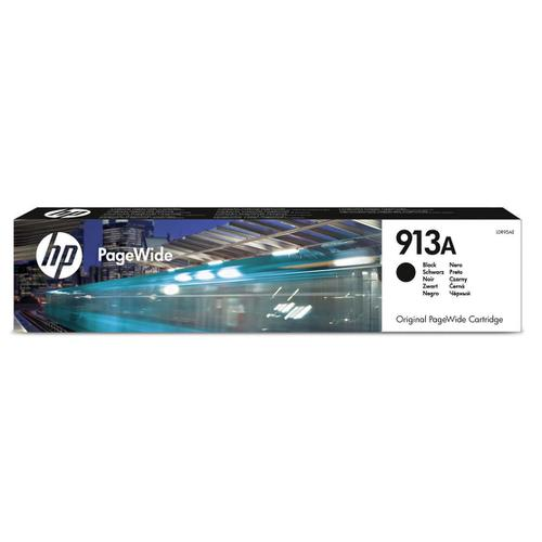Hewlett Packard [HP] No.913A Inkjet PageWide Cartridge Page Life 3500pp 64ml Black Ref L0R95AE