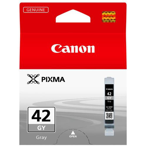 Canon CLI-42 Inkjet Cartridge Page Life 492pp 13ml Grey Ref 6390B001