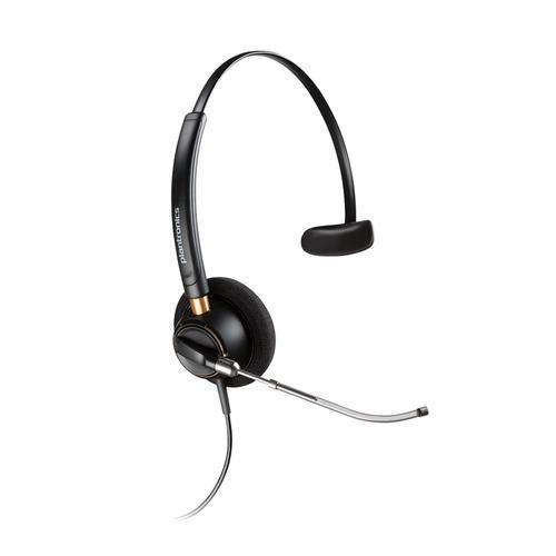 Plantronics EncorePro HW510V Mono Voice Tube QD Headset Ref 89435-02