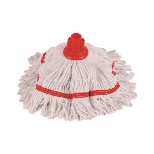 Robert Scott & Sons Hygiemix T1 Socket Cotton & Synthetic Colour-coded Mop 250g Red Ref MHH250R
