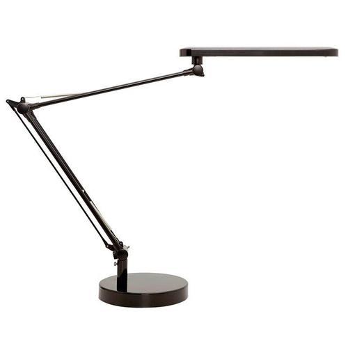 Unilux Mambo LED Desk Lamp Adjustable Arm 5.6W Max Height 860mm Base Diameter 190mm Black Ref 400087707