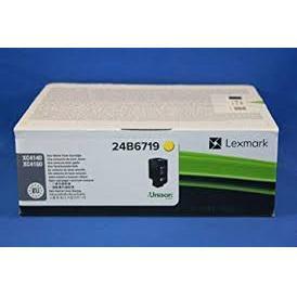 Lexmark XC4150 Laser Toner Cartridge Page Life 13000pp Yellow Ref 24B6719