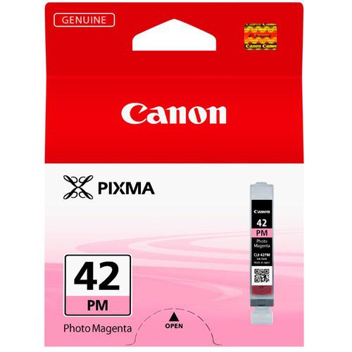 Canon CLI-42 Inkjet Cartridge Page Life 169pp 13ml Photo Magenta Ref 6389B001