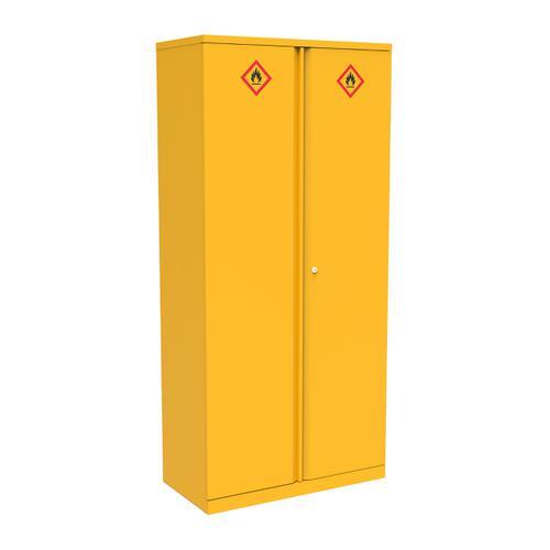 Bisley Hazardous Substances Cabinet 3 Shelves 914x470x1806 Ref HCB0918