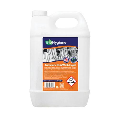 BioHygiene Automatic Dish Wash Liquid 5Litre Bottle Ref BH172