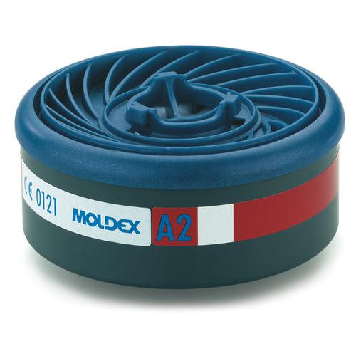 Moldex A2 7000/9000 Particulate Filter EasyLock System Blue Ref M9200 [Pack 4] *Up to 3 Day Leadtime*