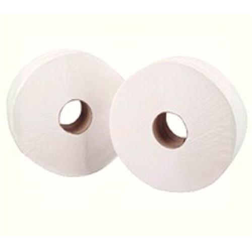 Maxima Mini Jumbo Toilet Roll 400x90mm 2-Ply 200m White Ref 1102045 [Pack 12]