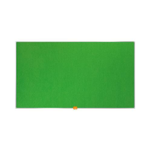 Nobo 40 inch Widescreen Felt Board 890x500mm Green Ref 1905315