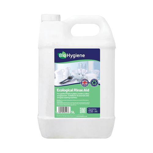 BioHygiene Ecological Rinse Aid 5Litre Bottle Ref BH173