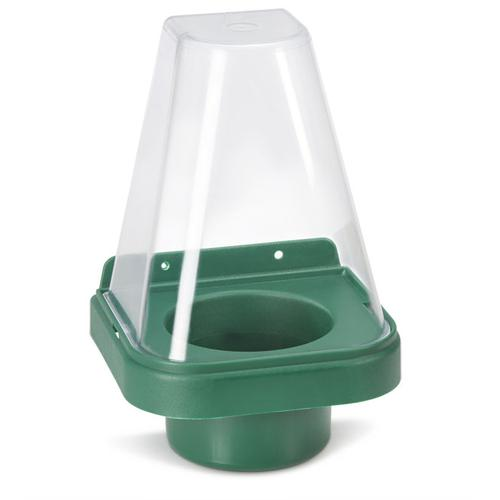 Click Medical Single Eyewash Stand with Cover for 500ml Bottle Green Ref CM1009 *Up to 3 Day Leadtime*