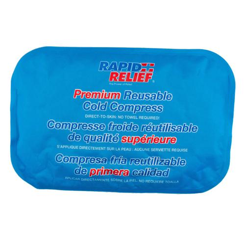 Rapid Relief Premium Reusable Cold Compress 8in x 12in Blue RA11270 *Up to 3 Day Leadtime*