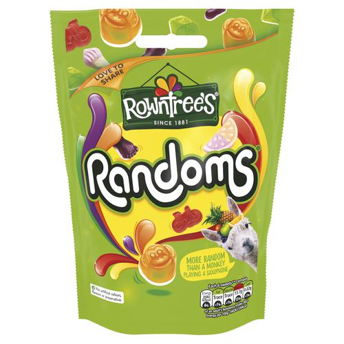 Rowntree Randoms Bags 150g Jelly Sweets Ref 12437438