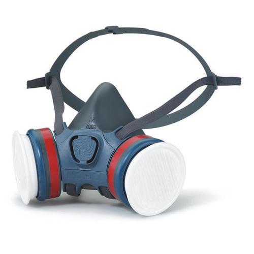 Moldex ABEK1P3 Half Mask Lightweight Medium Grey Ref M7432 *Up to 3 Day Leadtime*