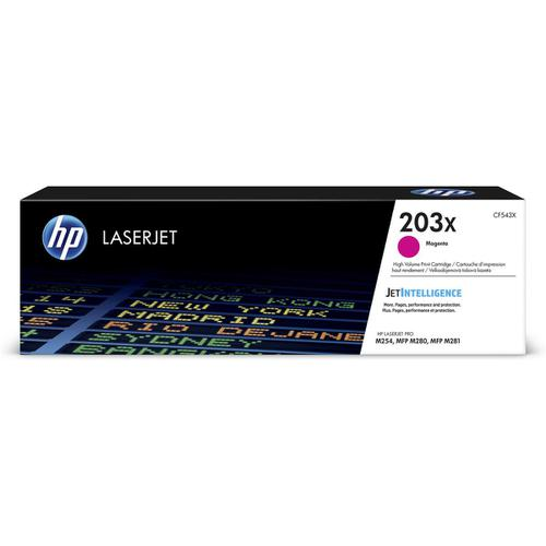 HP 203X Laser Toner Cartridge High Yield Page Life 2500pp Magenta Ref CF543X