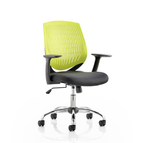 Trexus Dura Task Operator Chair With Arms Green Ref OP000016