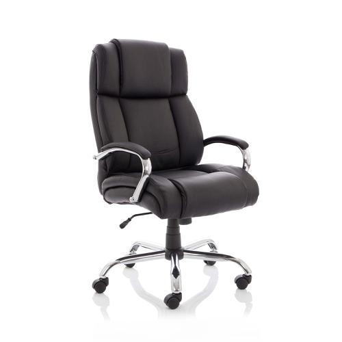 Sonix Texas Executive Heavy Duty Chair With Arms Bonded Leather Ref EX000115