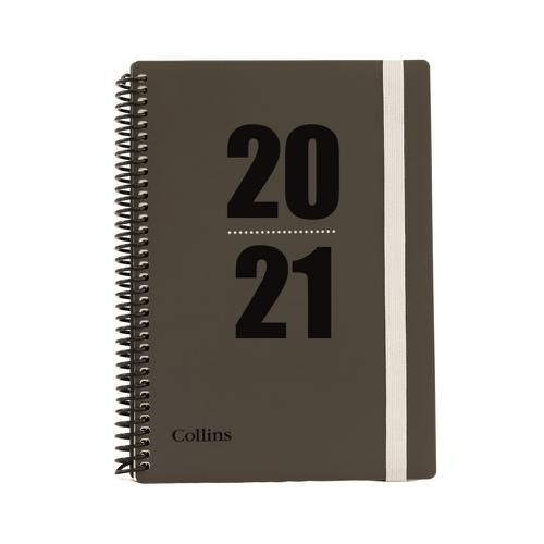 Collins 2020/21 Academic Diary Week-to-View A5 Blue Ref FP53M.60-2021