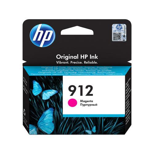 Hewlett Packard 912 Inkjet Cartridge Page Life 315pp 2.93ml Magenta Ref 3YL78AE