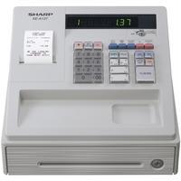 Sharp XE-A137 Cash Register Thermal Print 200PLUs 8-departments Black Ref XEA137BK