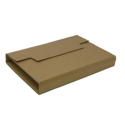 Rigid Corrugated Postal Wrapper Small 250x180x50mm Manilla Ref RBL10535 [Pack 25]