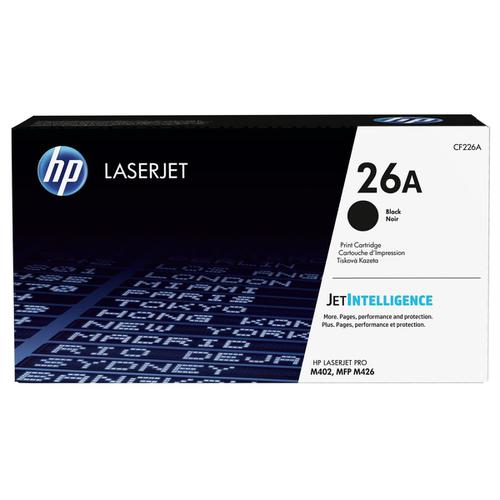 HP 26A Laser Toner Cartridge Page Life 3100pp Black Ref CF226A