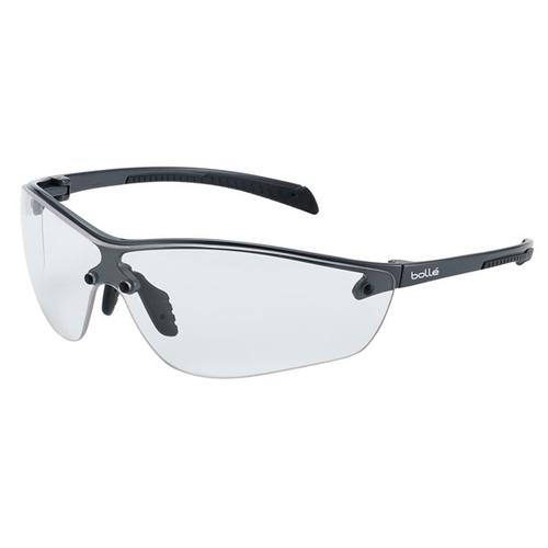Bolle Siliumplus Platinum Clear Safety Glasses Ref BOSILPPSIPLUS [Pack 10] *Up to 3 Day Leadtime*