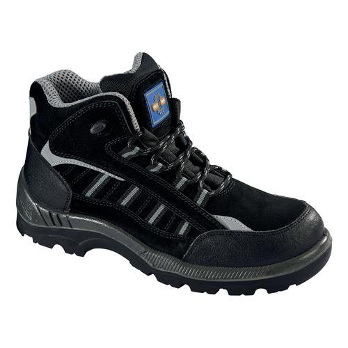 Rockfall ProMan Boot Suede Fibreglass Toecap Black Size 6 Ref PM4020 6