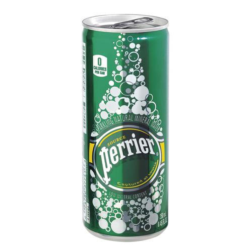 Perrier Sparkling Mineral Water Can 250ml Ref 11648958PK35 [Pack 35]