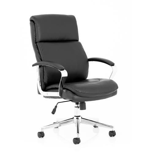 Trexus Tunis Executive Chair Bonded Leather Black Ref EX000210