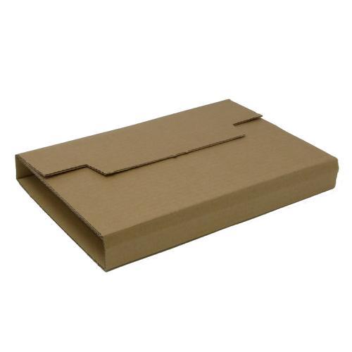 Rigid Corrugated Postal Wrapper Medium 290x230x50mm Manilla Ref RBL10536 [Pack 25]