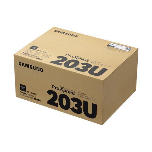 Samsung MLT-D203U Laser Toner Cartridge Ultra High Capacity Page Life 15000pp Black Ref SU916A