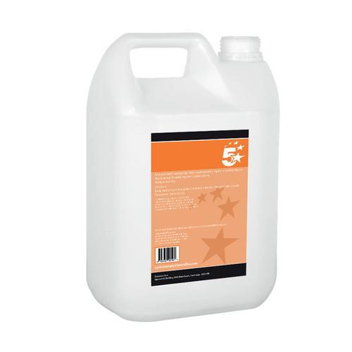 5 Star Facilities Liquid Hand Antibacterial Sanitiser 70% Alcohol 5 Litre