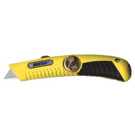 Pacific Handy Cutter Quickblade Retractable Knife Heavy Duty Yellow Ref QBR-18 *Up to 3 Day Leadtime*