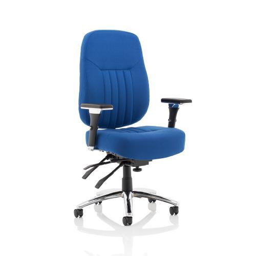 Sonix Barcelona Plus Fabric Blue 510x510-550x500-600mm Ref OP000183